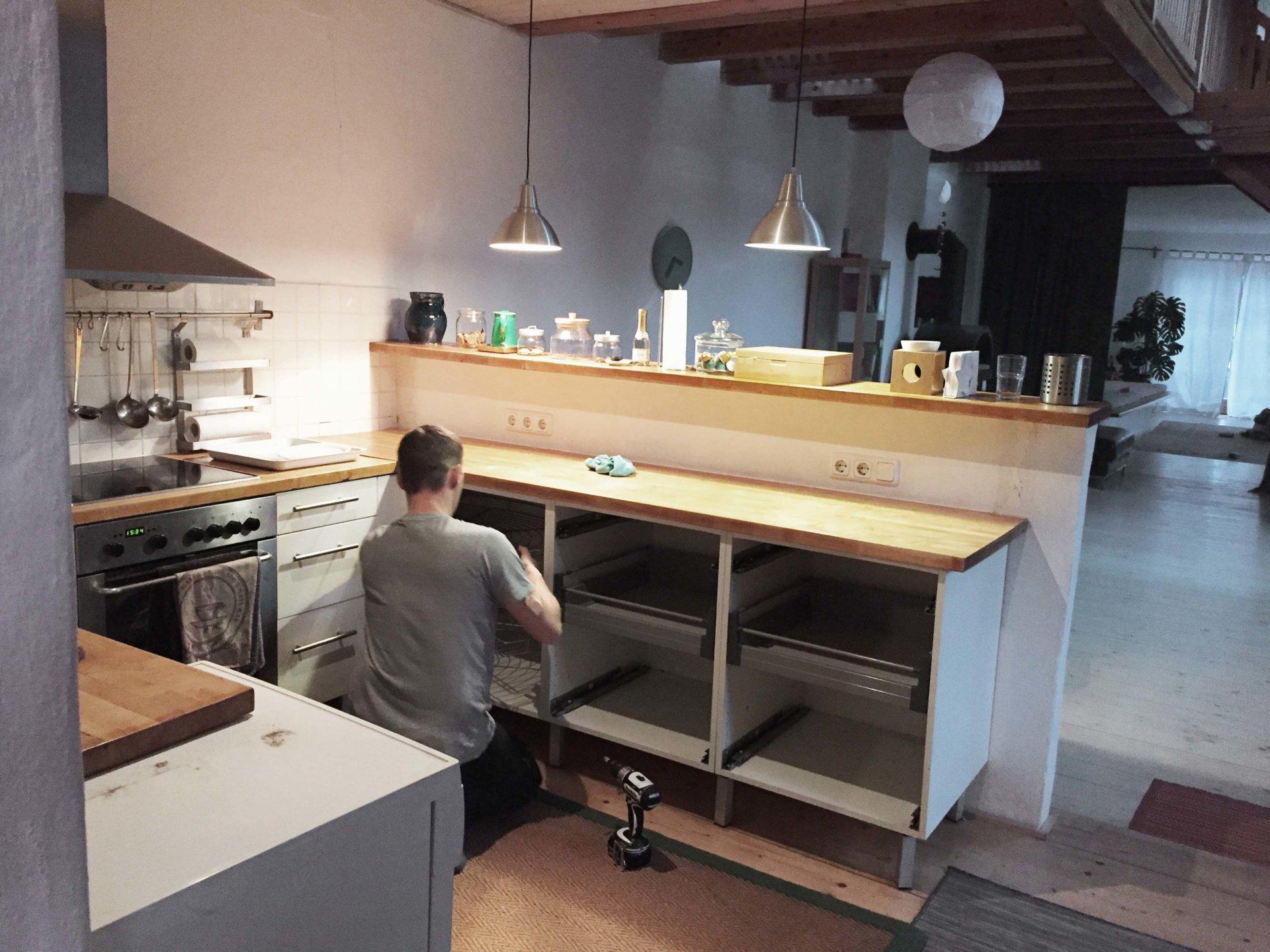 Küchengestaltung Bestand