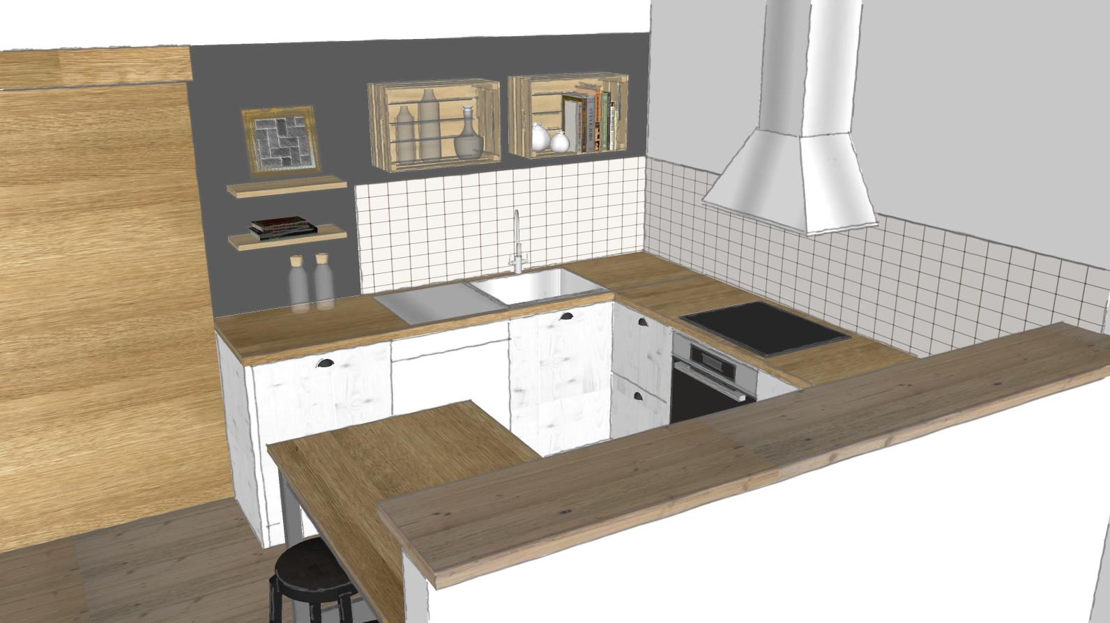 Küchengestaltung Plaung
