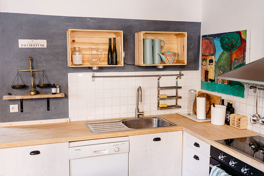 Küchengestaltung Wurzelwerk